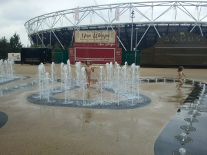 Olympic Park fountains